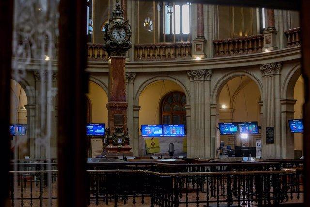 Interior del Palau de la Borsa.