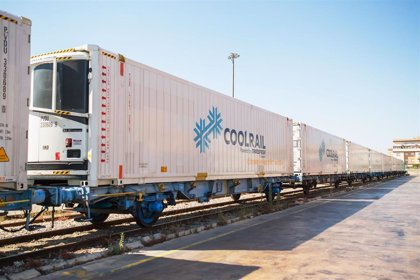 Una empresa envía productos frescos desde Almussafes a Dinamarca por ferrocarril