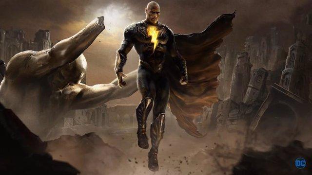 Dwayne The Rock Johnson es Black Adam en el Universo DC