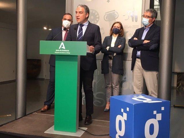 El consejero de la Presidencia, Administración Pública e Interior, Elías Bendodo.
