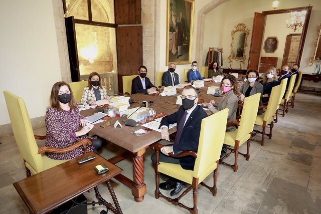 Archivo - Reunión del Consell de Govern.