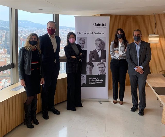 Carine Lebecque, Mateu Hernández, Anna Marquès, Mireia Lafoz i Enric Rovira, aquest dilluns