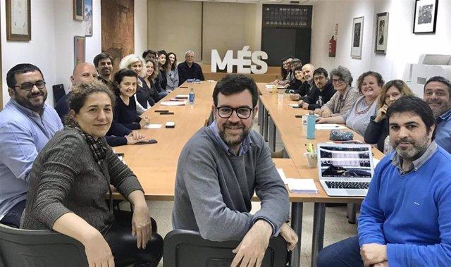 Ejecutiva de MÉS per Mallorca.