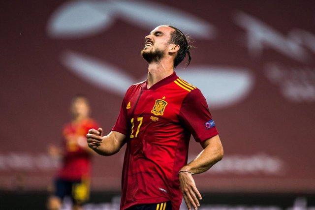 Archivo - Fabián Ruiz durante un partido de la selección española de fútbol