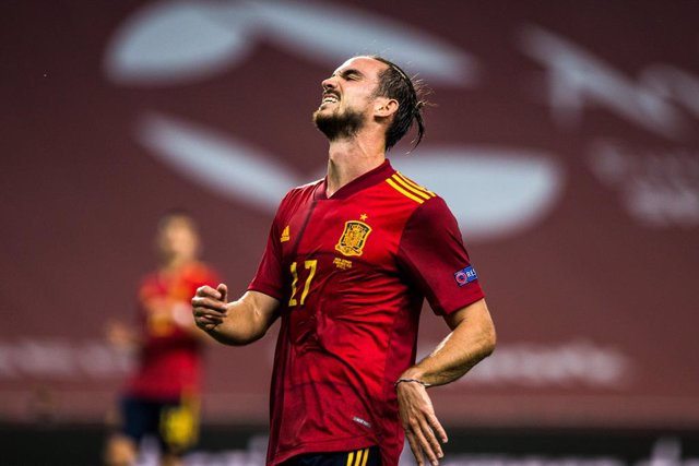 Archivo - Fabian Ruiz of Spain during the UEFA Nations league match between Spain and Germany at the la Cartuja Stadium on November 17, 2020 in Sevilla Spain