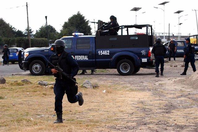 Archivo - Policía Federal de México