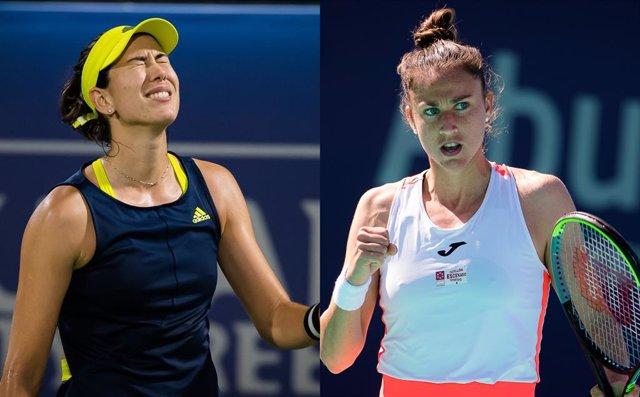 Gabiñe Muguruza cede ante Andreescu y Sara Sorribes alcanza los cuartos en Miami