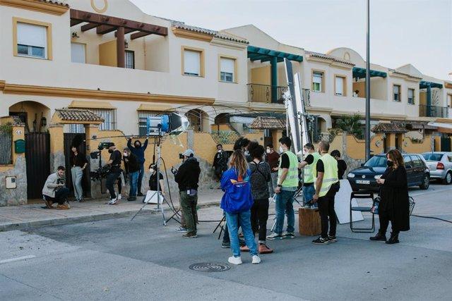 Archivo - Cádiz.- San Fernando se convierte en la base de operaciones del rodaje de la película 'Lobo Feroz'