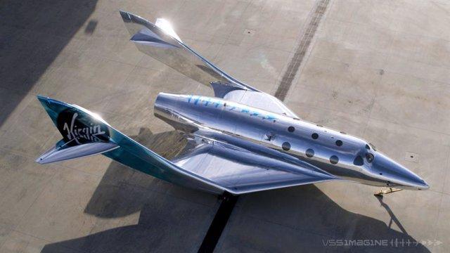 VSS Imagine, primer Spaceship III de Virgin Galactic