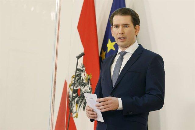 El canceller d'Àustria, Sebastian Kurz.