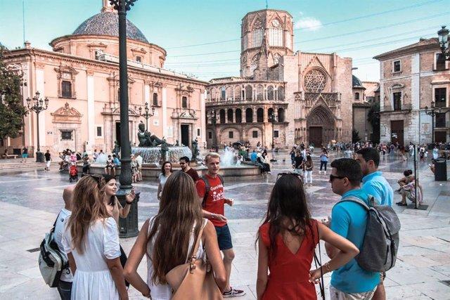 Archivo - Guía plaza de Valencia.