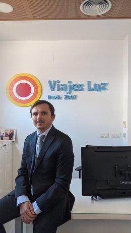 Archivo - El presidente de la Asociación Provincial de Agencias de Viajes, Luis Arroyo.