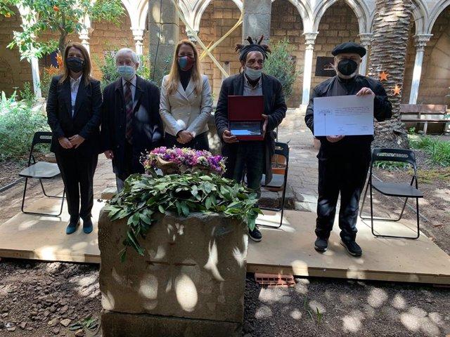 Lliurament del Premi Convivència de la Fundació Sant Raimon de Penyafort a la parròquia Santa Anna-Hospital de Campanya