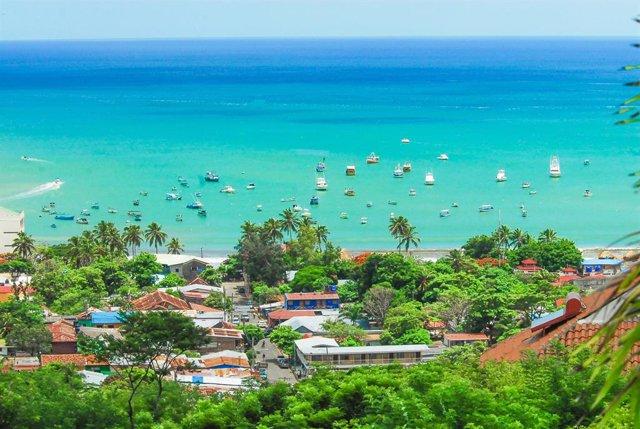 Archivo - San Juan del Sur,  localidad de la costa sudoeste de Nicaragua.