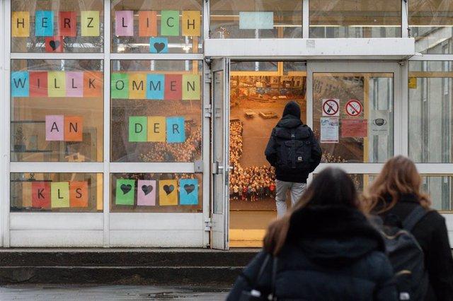 Escuela en Alemania durante la pandemia de coronavirus