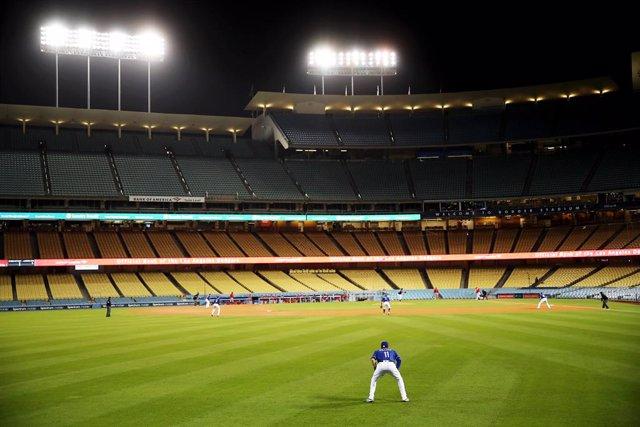 Imagen de un partido de Los Angeles Dodgers