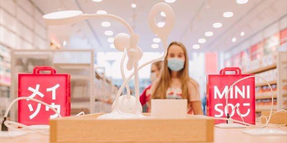 2. COMUNICADO: Miniso, el fenómeno mundial del diseño japonés, abre su quinta tienda en Madrid