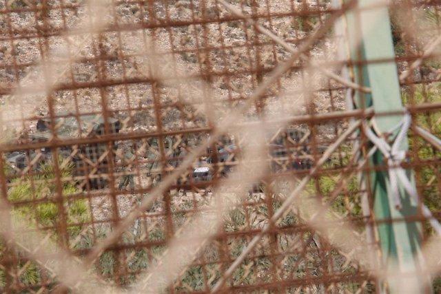Archivo - La valla de Melilla tras un salto masivo.