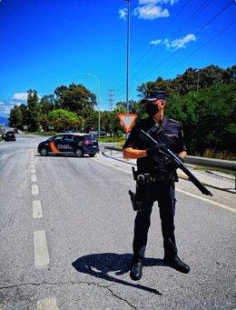 Policia Nacional Nota De Prensa (La Policía Nacional Detiene En Casares (Málaga) A Un Fugitivo Polaco Reclamado En Su País Por Un Delito De Fraude)