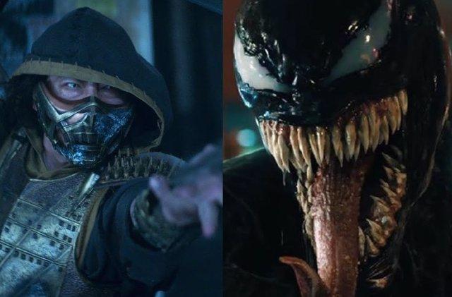 Venom 2 y Mortal Kombat retrasan su fecha de estreno