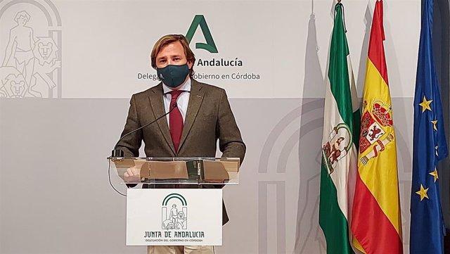 Archivo - El delegado del Gobierno andaluz en Córdoba, Antonio Repullo, en ln una imagen de archivo.