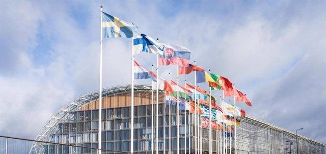Archivo - Sede del BEI en Luxemburgo