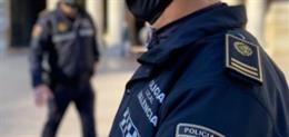 Archivo - Imagen de recurso de Policía Local de València