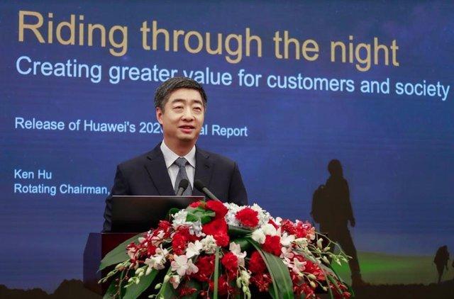 Ken Hu, presidente rotatorio de Huawei