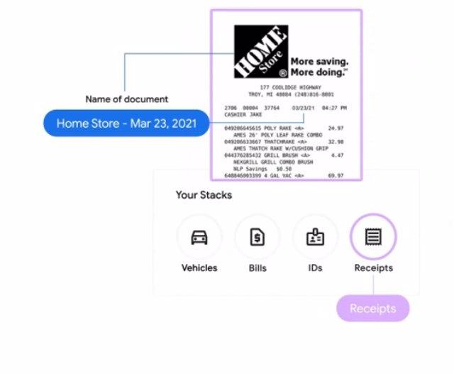 App Stack para organizar facturas