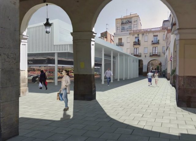 Projecte de reforma del mercat de Sant Andreu.