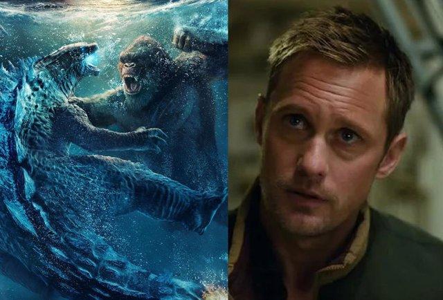 """Alexander Skarsgard: """"Nadie va a ir a ver Godzilla vs. Kong porque salga yo"""""""
