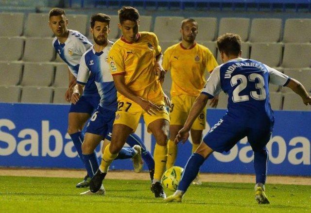 El Girona empata en su visita al Sabadell