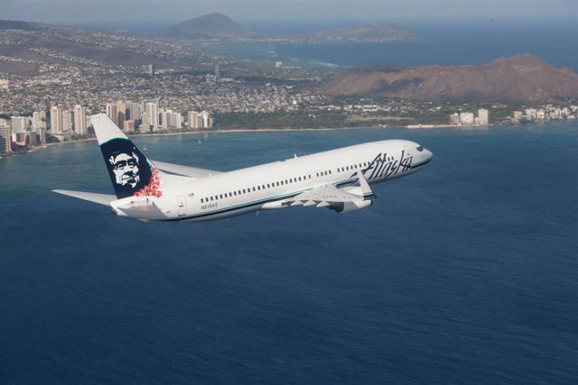 Archivo - Alaska Airlines