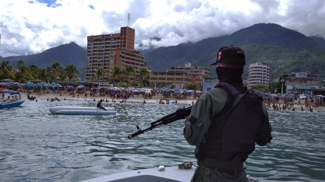 Archivo - Embarcación de patrulla de los Guardacostas de Venezuela