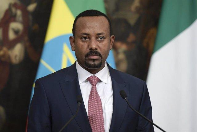 Archivo - Abiy Ahmed, primer ministro de Etiopía