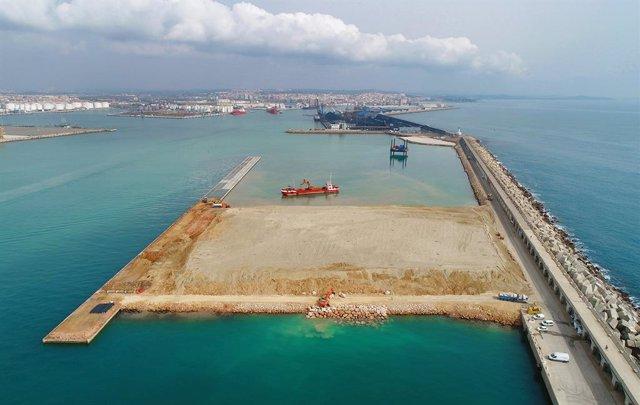 Obres del Moll de Balears del Port de Tarragona.