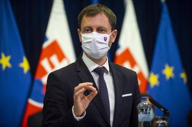 Archivo - El nuevo primer ministro eslovaco, Eduard Heger