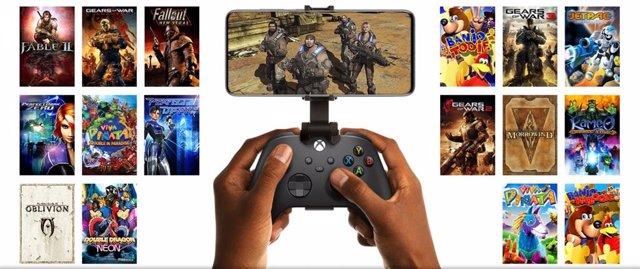 Retrocompatibilidad con juegos en la nube de Xbox