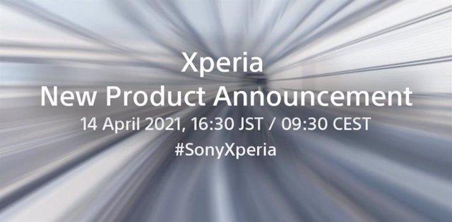 Evento de presentación de un nuevo producto Xperia
