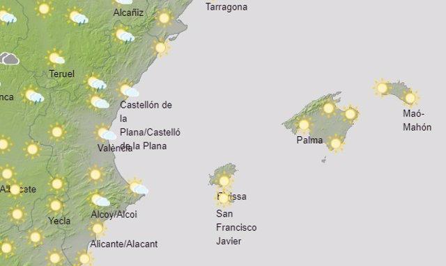 Archivo - El tiempo en Baleares, este 2 de abril.