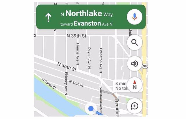 Brújula de Google Maps