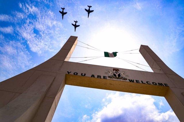 Archivo - Aviones de combate de la Fuerza Aérea de Nigeria