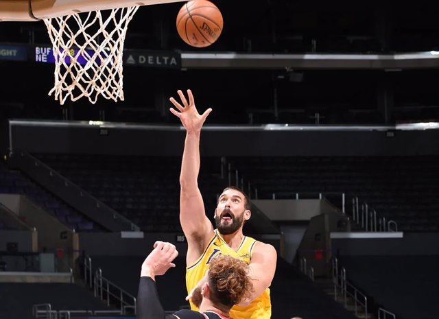 Archivo - Marc Gasol (Lakers)