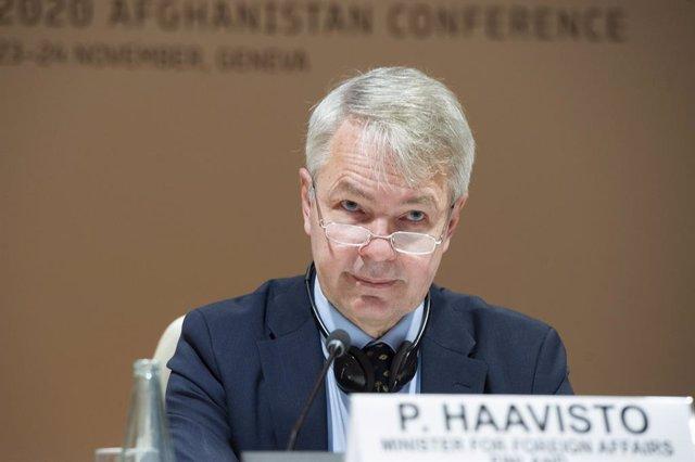 Archivo - El ministro de Exteriores de Finlandia, Pekka Haavisto