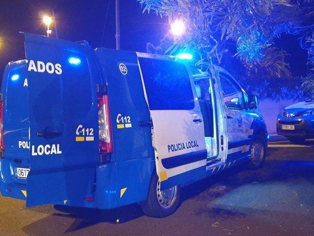 Furgón de la Policía Local de La Orotava