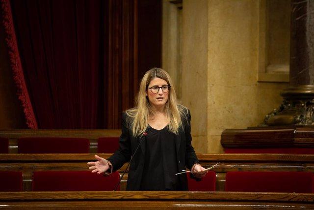 Archivo - Arxivo - La vicepresidenta de Junts, Elsa Artadi