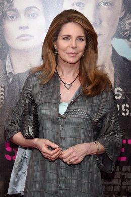 Archivo - La reina Noor de Jordania durante un acto en Nueva York en 2015