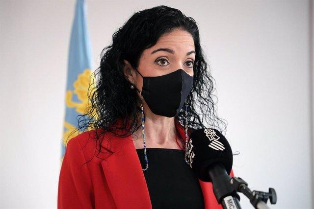 La directora de la Agencia Tributaria Valenciana, Sonia Díaz