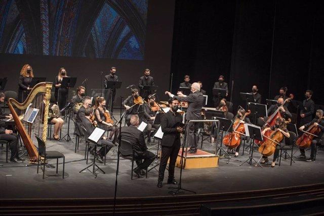La Orquesta Ciudad de Almería ofrece un repertorio de música sacra en el auditorio Maestro Padilla