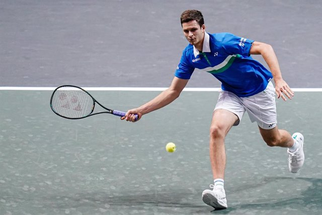 Archivo - Hubert Hurkacz of Poland during the ABN AMRO World Tennis Tournament 2021, ATP 500 tournament on March 4, 2021 at the Rotterdam Ahoy in Rotterdam, Netherlands - Photo Henk Seppen / Orange Pictures / DPPI